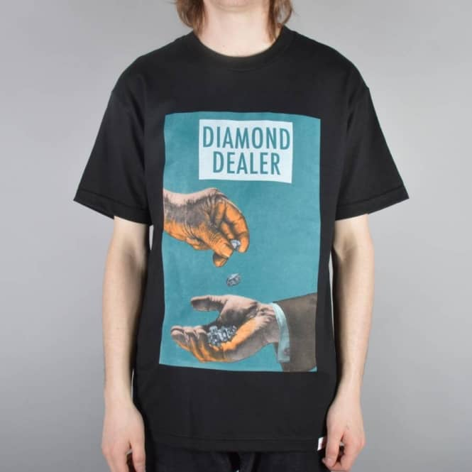 Diamond Supply Co. Diamond Dealer Skate T-Shirt - Black