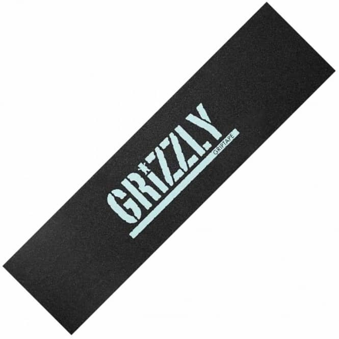 Grizzly Griptape Diamond Grizzly Stamp Print Grip Tape