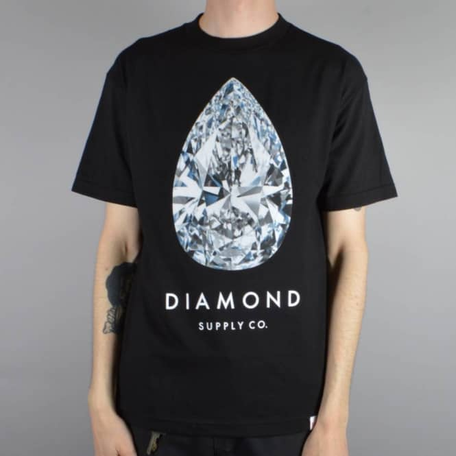 Diamond Supply Co. 101 Carats T-Shirt - Black
