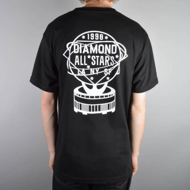 Diamond Supply Co All Stars T-Shirt - Black