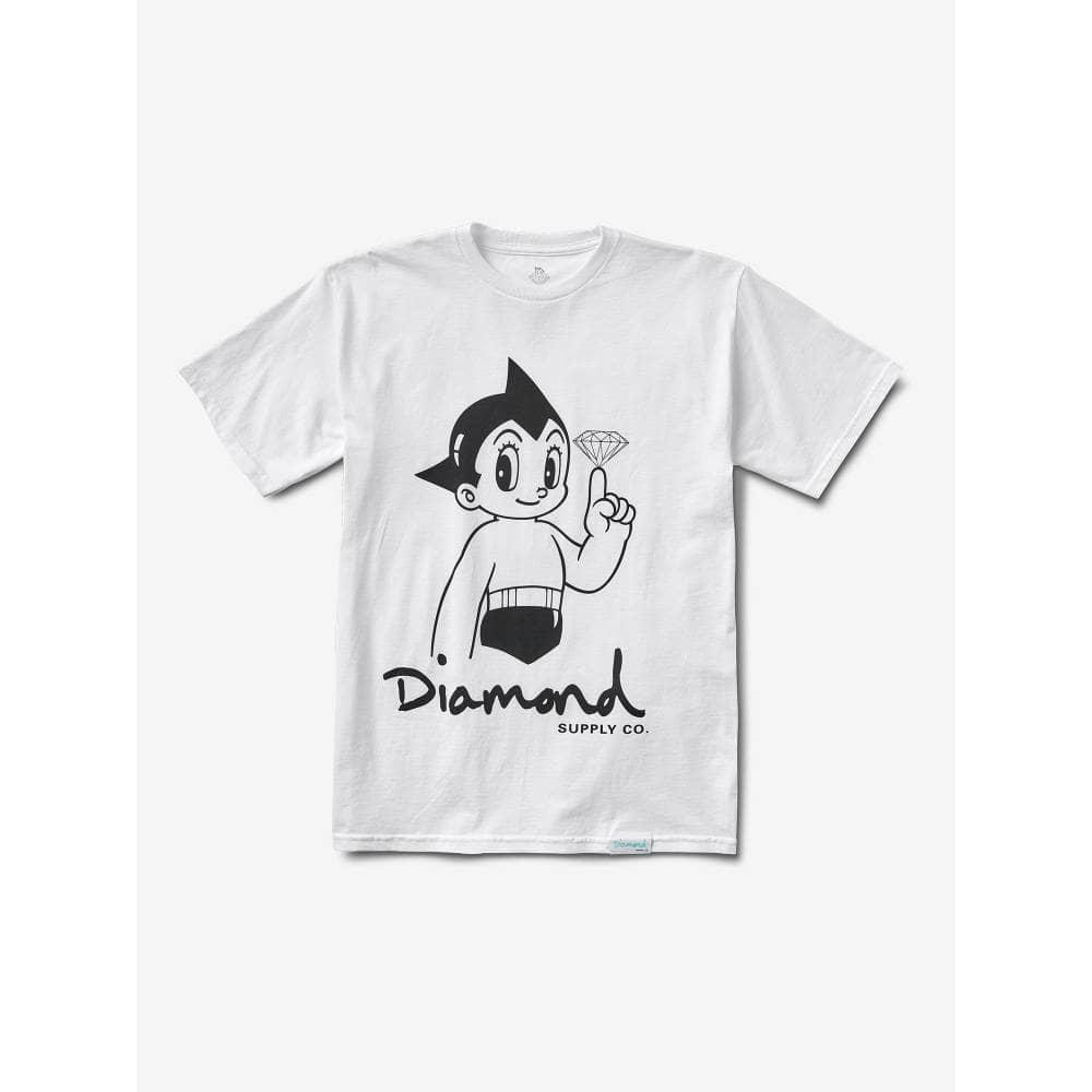 7deea4765 Diamond Supply Co. Astro Boy T-Shirt - White - SKATE CLOTHING from ...