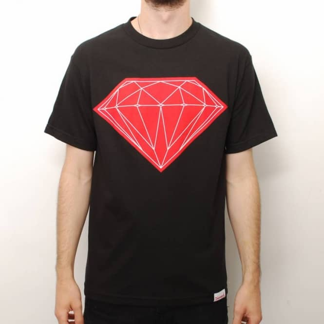 Diamond Supply Co. Diamond Supply Co. Big Brilliant Skate T-Shirt - Black
