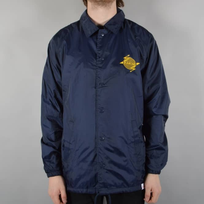 Diamond Supply Co. Bolt Coach Jacket - Navy