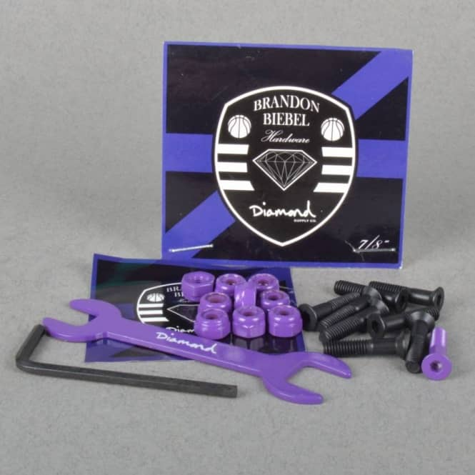 Diamond Supply Co. Diamond Supply Co. Brandon Biebel Truck Bolts 0.78