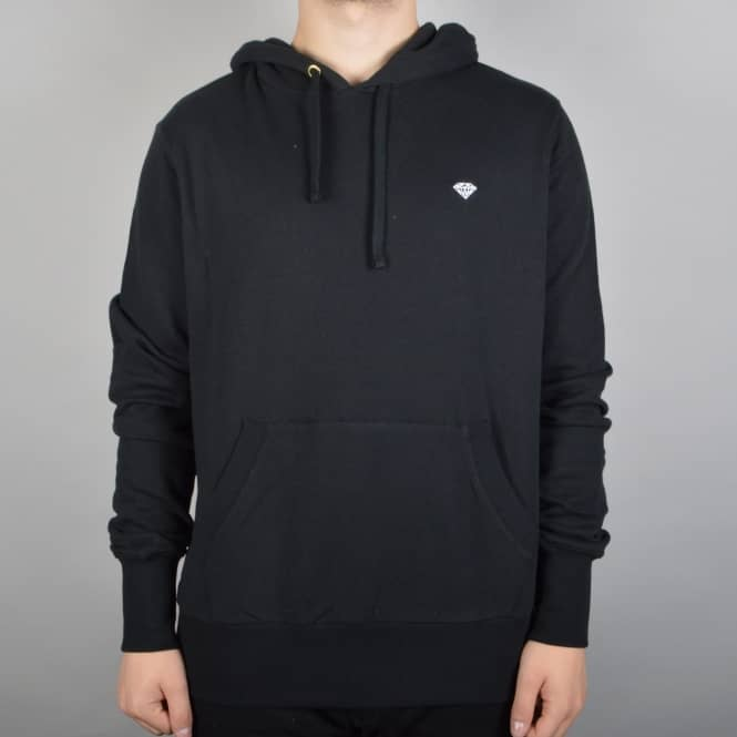 Diamond Supply Co Brilliant Chest Pullover Hoodie - Black