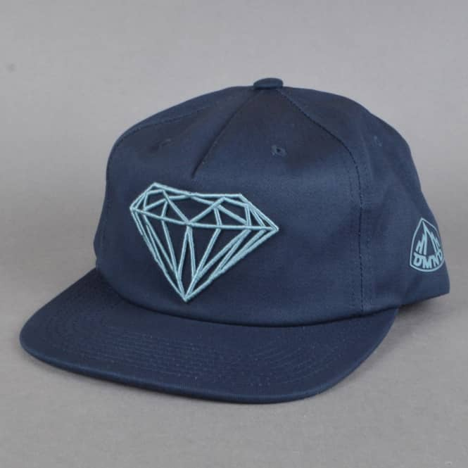 Diamond Supply Co. Brilliant Holiday 16 Snapback Cap - Navy