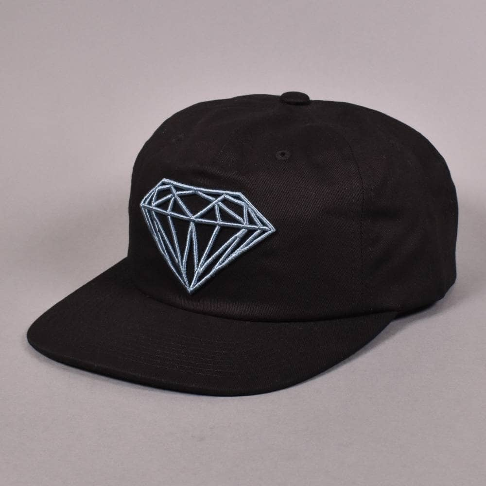 640d4a595da Diamond Supply Co. Brilliant Unstructured Snapback Cap - Black ...
