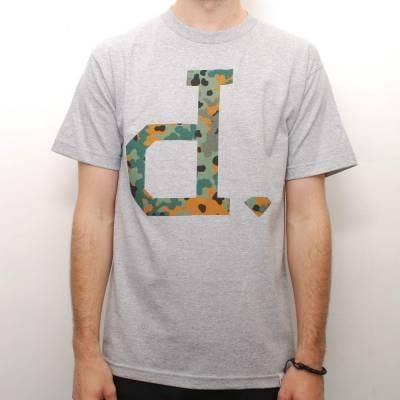 Diamond supply co camo un polo skate t shirt heather for Diamond supply co polo shirts
