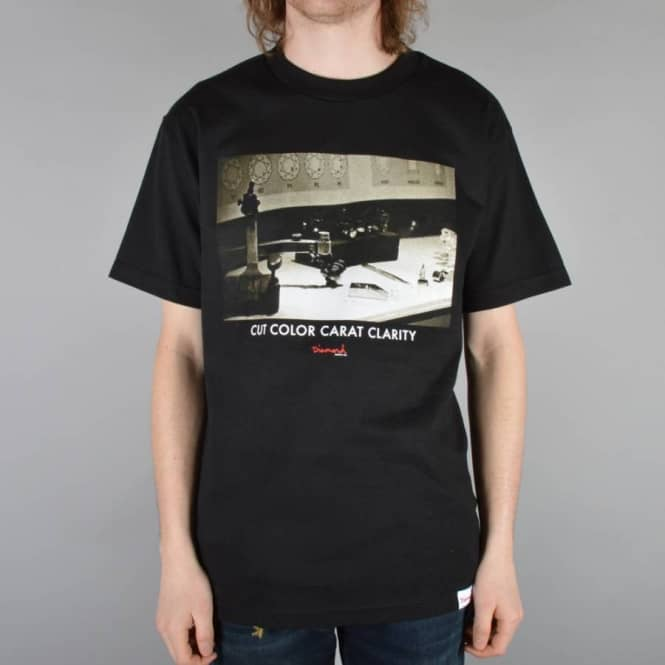 Diamond Supply Co. CCCC Skate T-Shirt - Black