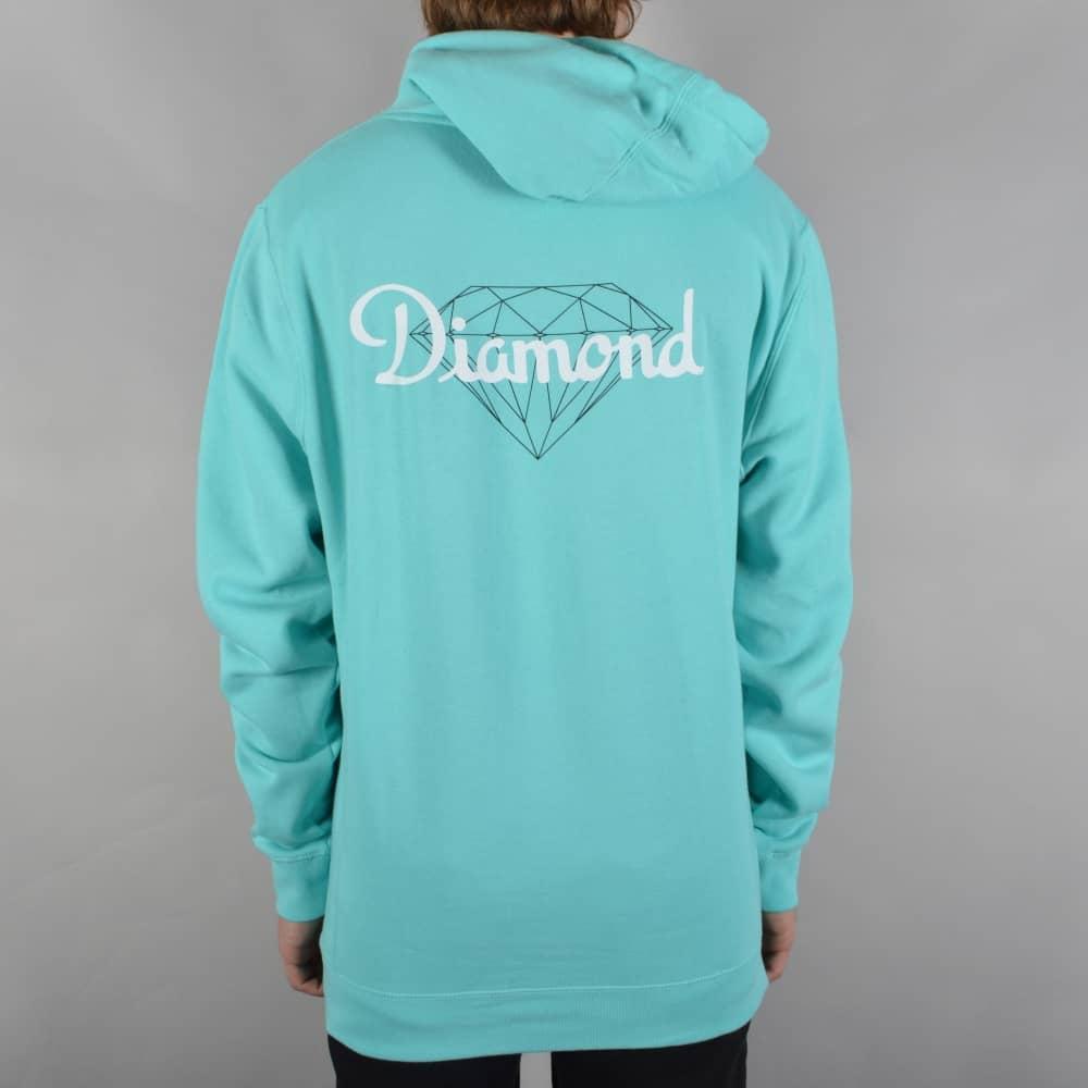 50bbd436 Diamond Supply Co. Champagne Cut Pullover Hoodie - Diamond Blue ...