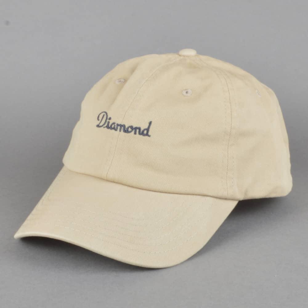 Diamond Supply Co. Champagne Sports Strapback Cap - Tan - SKATE ... 15e2ac99682