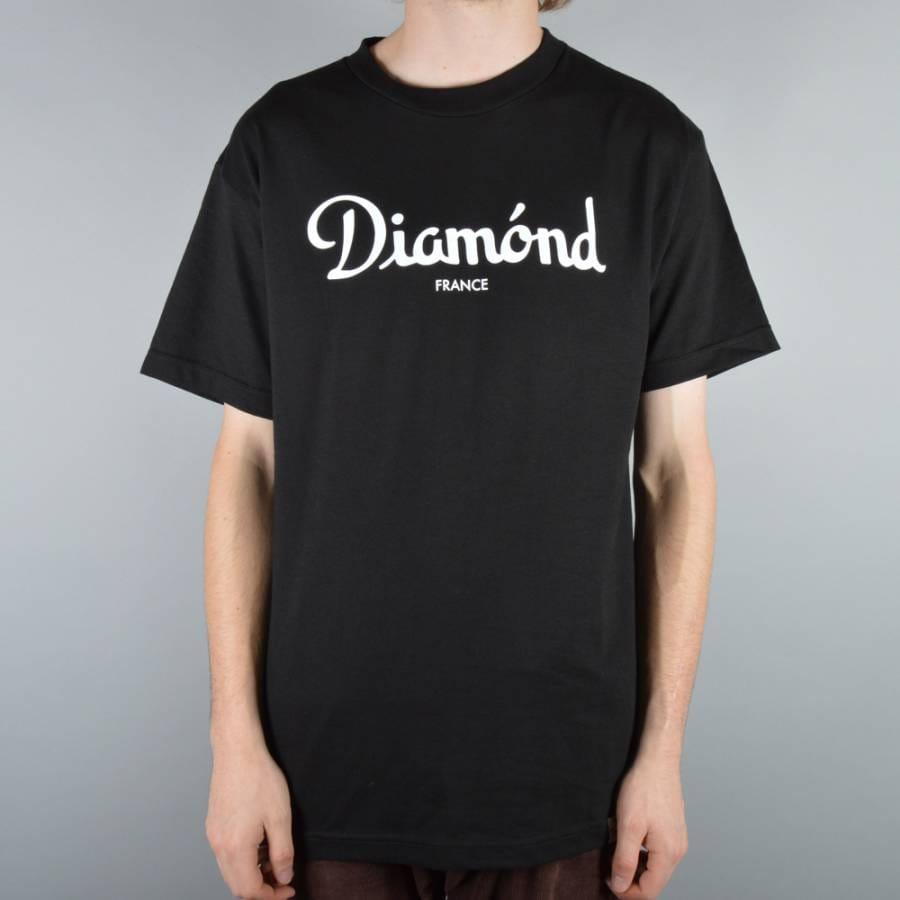 Diamond Supply Co Champagne T-Shirt - Black - Diamond ...