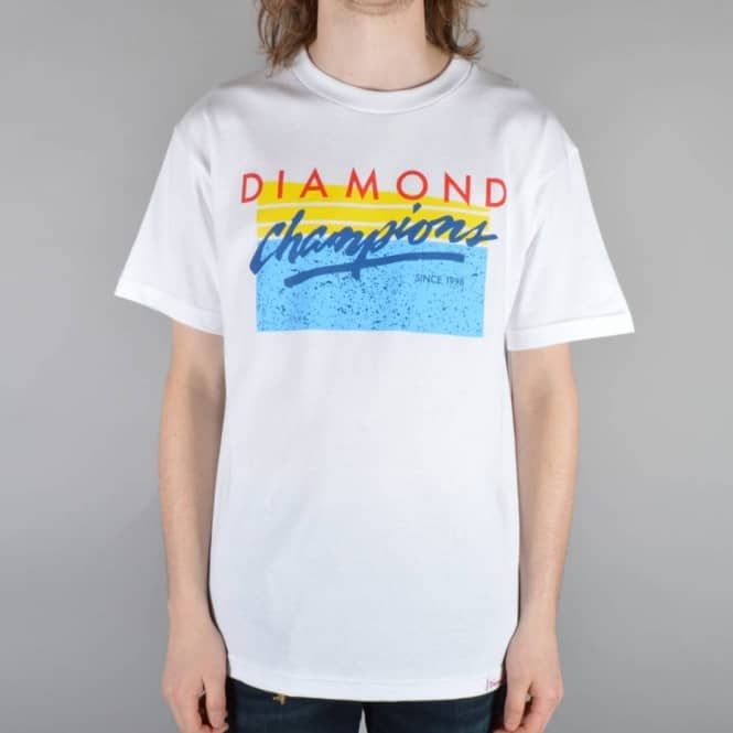 Diamond Supply Co Champions Skate T-Shirt - White