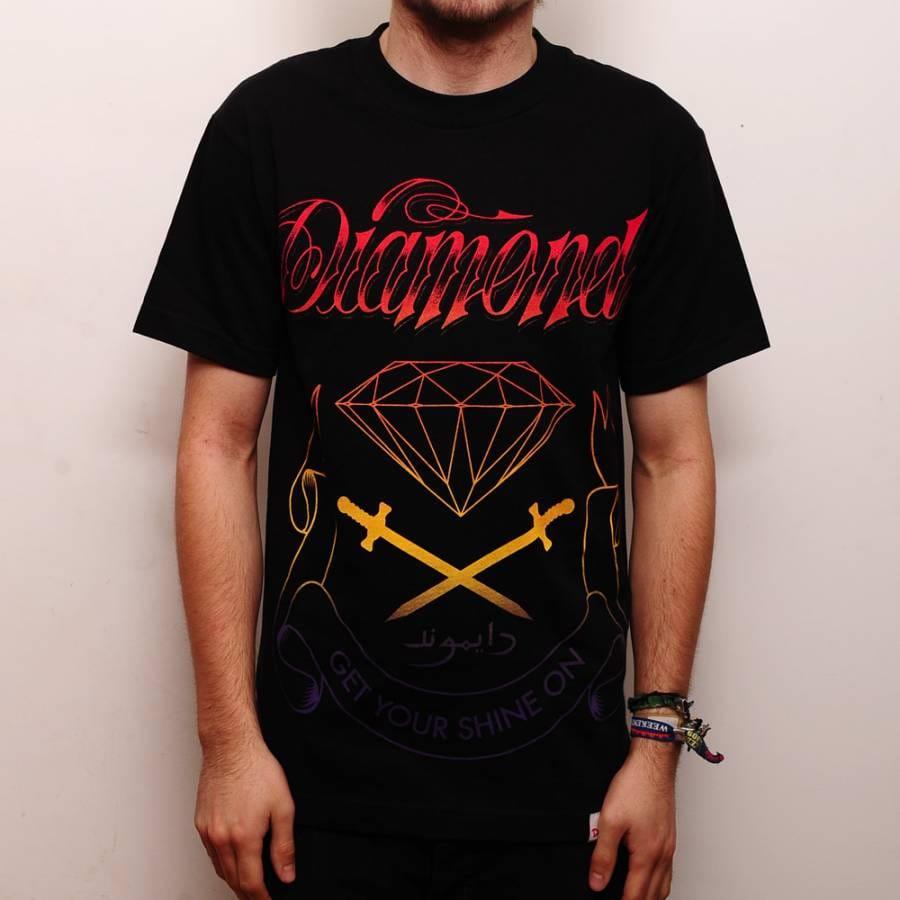 Diamond Supply Co Diamond Supply Co. Coat Of Arms T-Shirt ...
