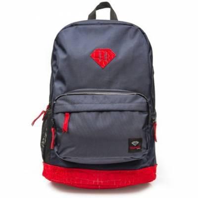 Diamond Supply Co. Croc School Life Backpack - Navy/Red ... - photo#36
