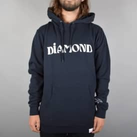 Diamond Supply Co. Desert Font Pullover Hoodie - Navy