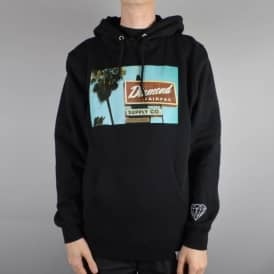 Diamond Supply Co. Diamond Deli Pullover Hoodie - Black