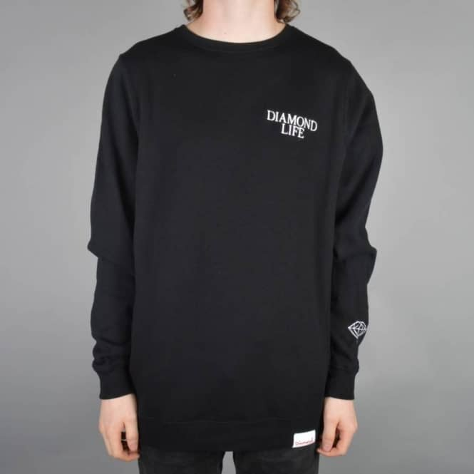 Diamond Supply Co. Diamond Life Crewneck Sweater - Back