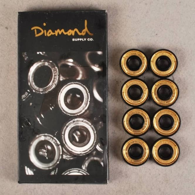 Diamond Supply Co Diamond Supply Co. Abec 5 Skateboard Bearings