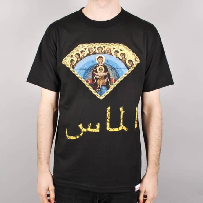 Diamond Supply Co. Diamond Supply Co. Arabic Mary Skate T-Shirt - Black