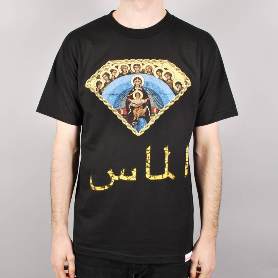 Diamond Supply Co Diamond Supply Co Arabic Mary Skate T