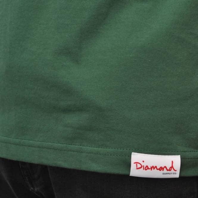 2895e4923c64 Diamond Supply Co. Ben Baller Unpolo Skate T-Shirt - Hunter Green ...