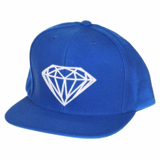 Diamond Supply Co. Diamond Supply Co. Brilliant Snapback Cap - Royal Blue