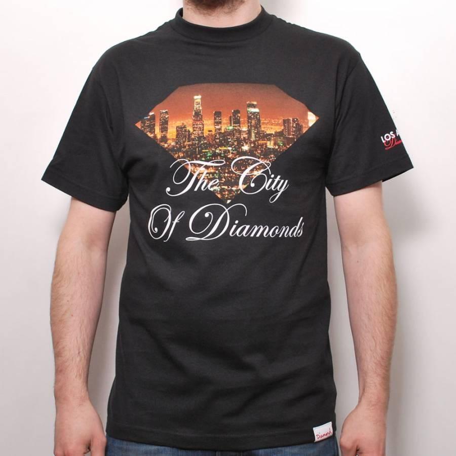 Diamond supply co diamond supply co city of diamonds t for Wholesale diamond supply co shirts