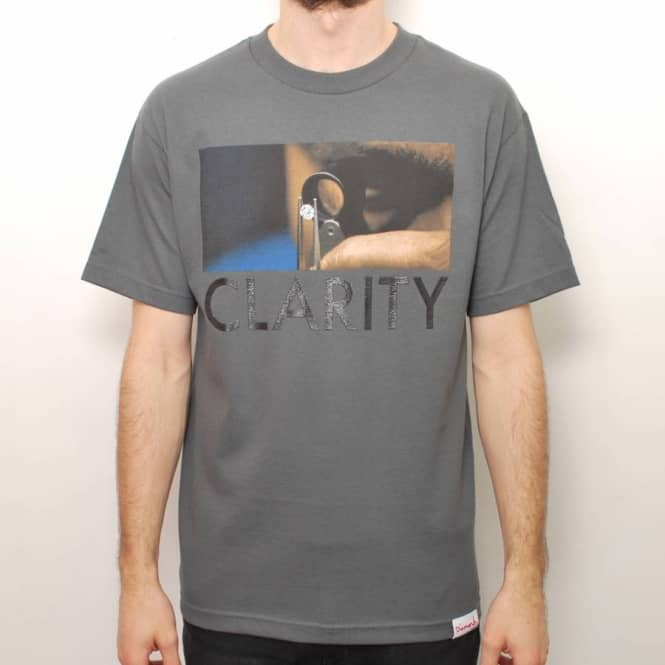 Diamond Supply Co. Diamond Supply Co. Clarity Pt.2 Skate T-Shirt - Charcoal