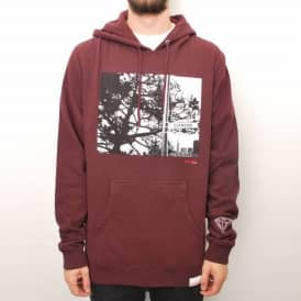 Diamond Supply Co. Diamond Street Pullover Hoodie - Burgundy