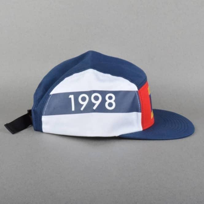 09695efdbaf Diamond Supply Co. DLYC 1998 Camp 5 Panel Cap - Navy White - Caps ...