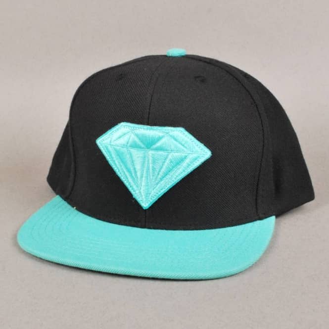 Diamond Supply Co. Emblem Snapback Cap - Black/Diamond ... - photo#41