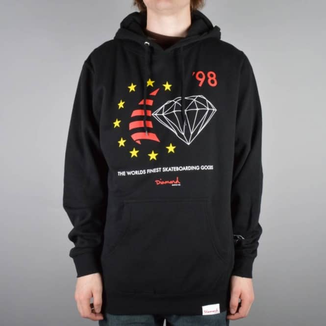 Diamond Supply Co. Diamond Supply Co. Finest Pullover Hoodie - Black