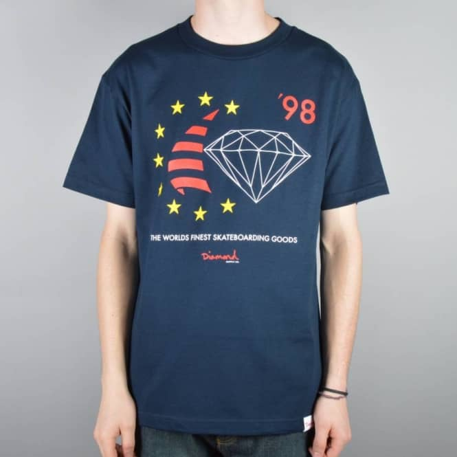 Diamond Supply Co. Diamond Supply Co. Finest Skate T-Shirt - Navy