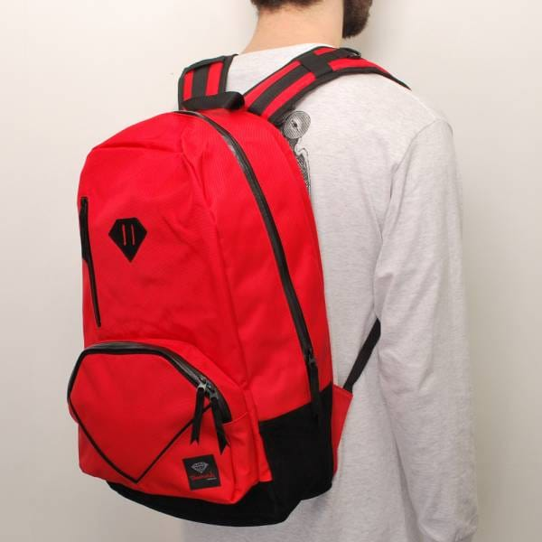 Diamond Supply Co. Life Backpack - Red - Skate Backpacks ... - photo#30