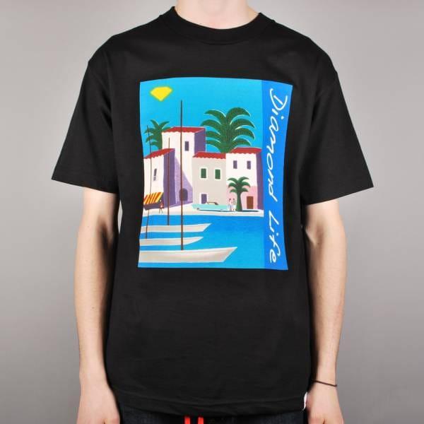 Diamond Supply Co. Riviera Skate T-Shirt - Black - Skate T ...