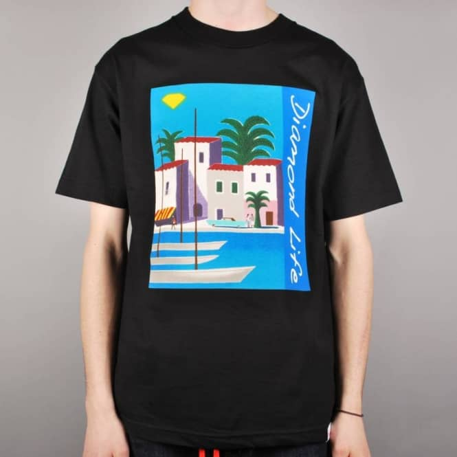 Diamond Supply Co. Diamond Supply Co. Riviera Skate T-Shirt - Black