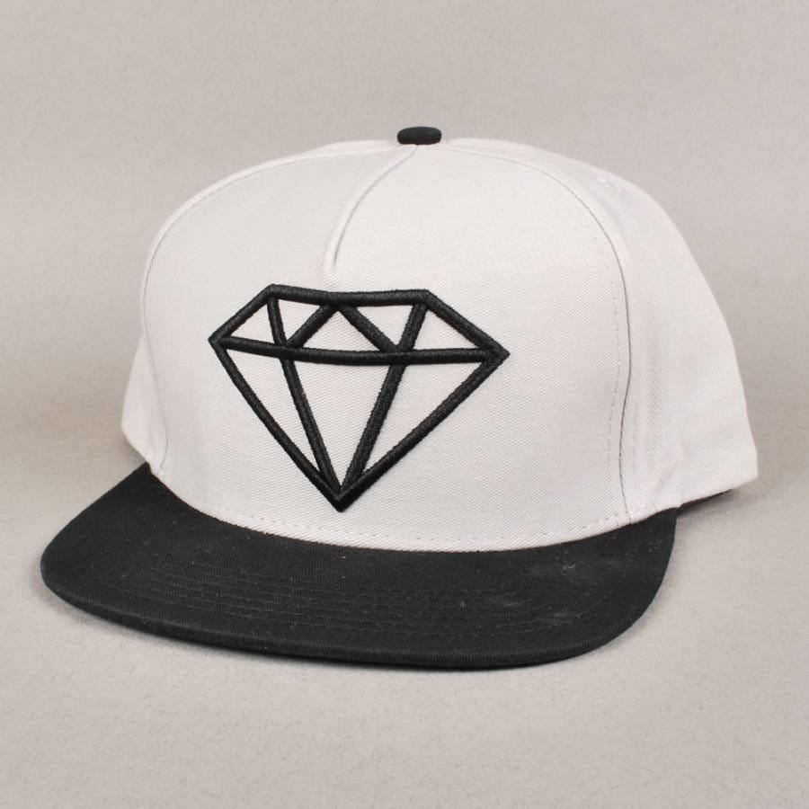 diamond supply co diamond supply co rock logo snapback