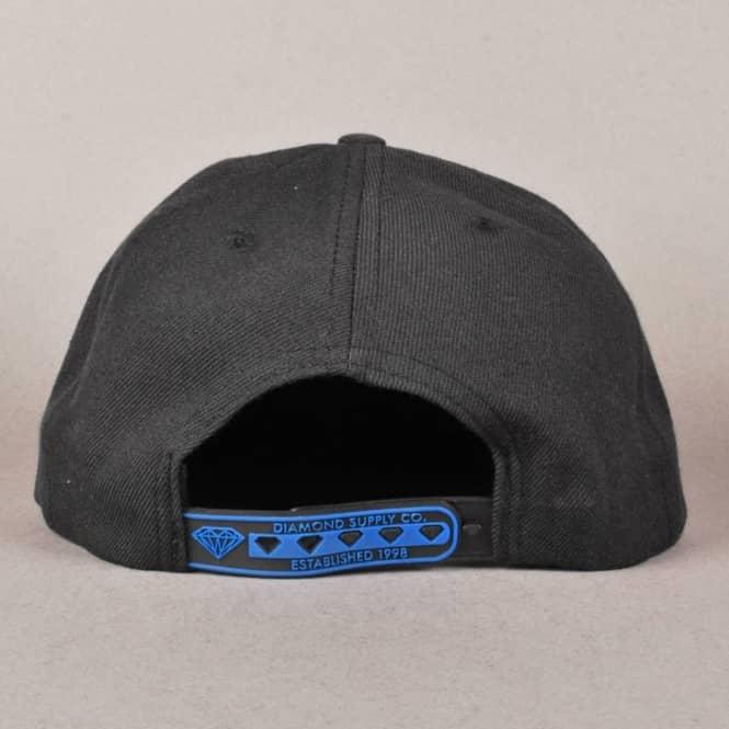 0efb4f551b185 Diamond Supply Co. Un-Polo Snapback Cap - Black Blue - Caps from ...