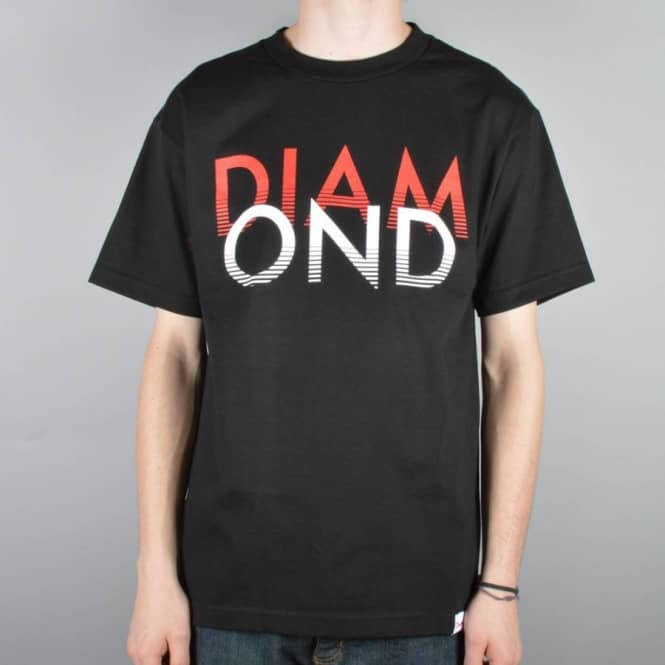 Diamond Supply Co Diamond Supply Co. White Sands Skate T-Shirt - Black
