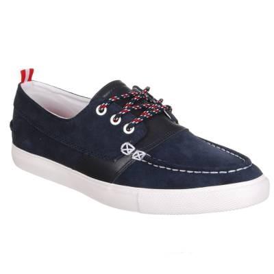 Co Diamond Supply Co. Diamond Yacht Club Navy Suede Skate Shoes - Navy