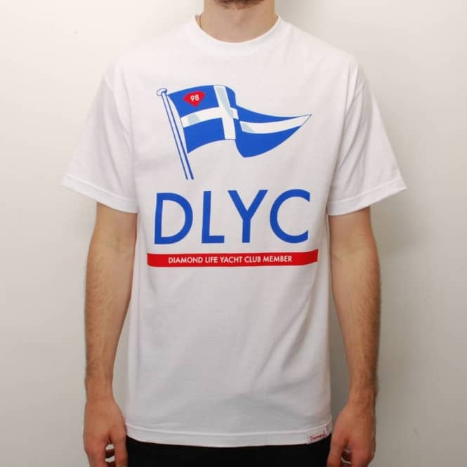 Diamond Supply Co. Diamond Supply Co. DLYC Member Skate T-Shirt - White