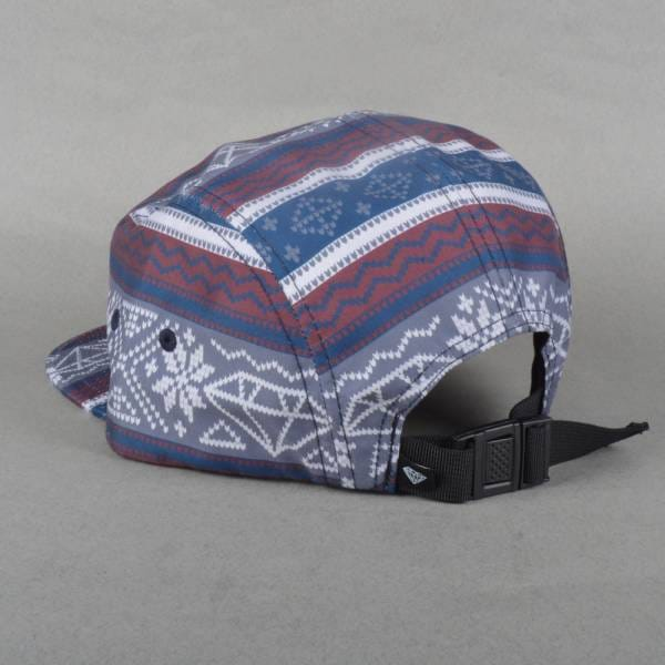 Diamond Supply Co. Fairisle 5 Panel Cap - Burgundy - Caps from ...