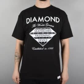 Diamond Supply Co Fastening Device Skate T-Shirt - Black