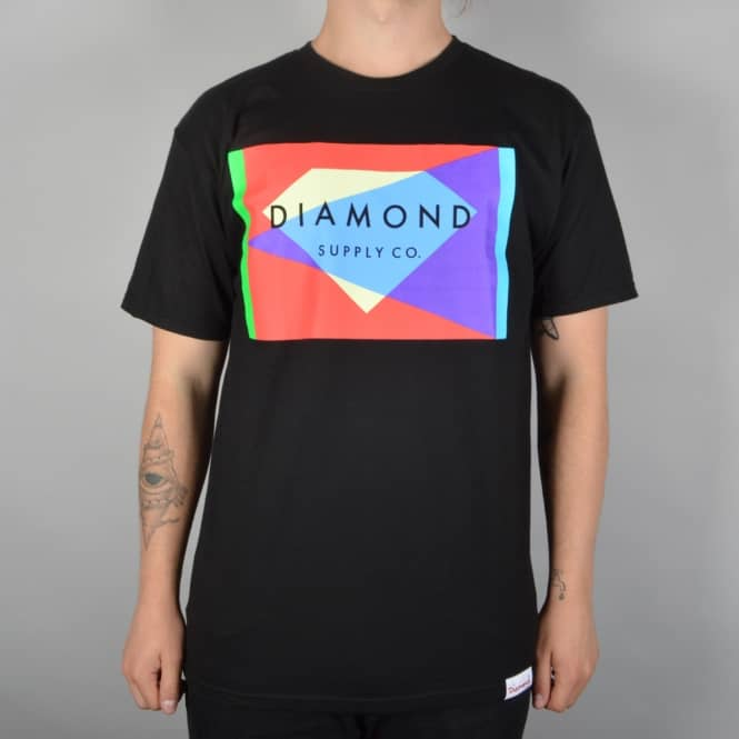 Diamond Supply Co. Geometric Skate T-Shirt - Black