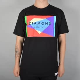 Diamond Supply Co Geometric Skate T-Shirt - Black