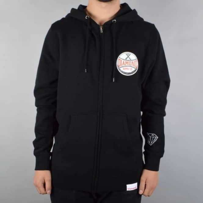 Diamond Supply Co Grand Slam Hoodie - Black