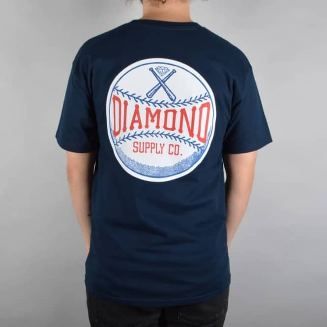 Diamond Supply Co. Grand Slam Skate T-Shirt - Navy