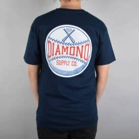 Diamond Supply Co Grand Slam Skate T-Shirt - Navy