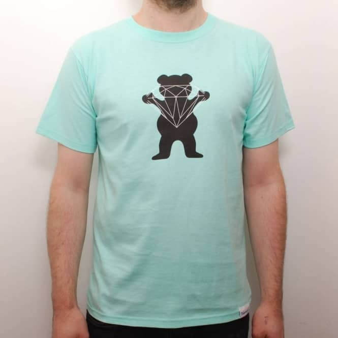 Grizzly Griptape Diamond Supply Co. Grizzly Brilliant Bear Skate T ... 266ad3296